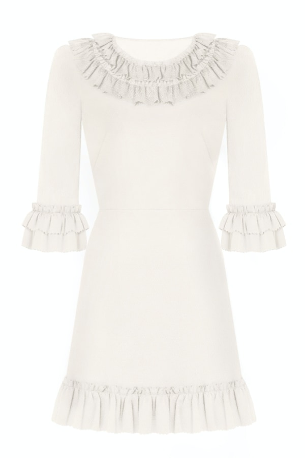 Image 1 of The Vampire's Wife the gloria mini dress