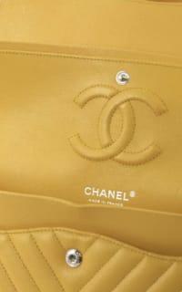 Chanel Double Flap Chevron Bag 3 Preview Images