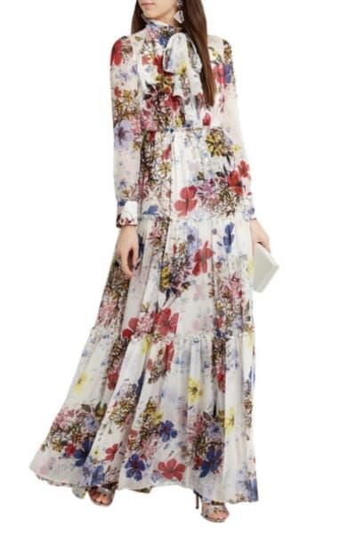 Erdem Floral long-sleeve dress 2