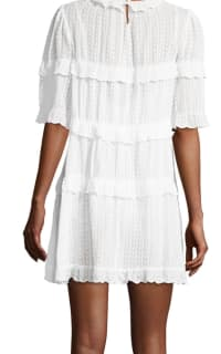 Isabel Marant Yukio tiered white dress  2 Preview Images