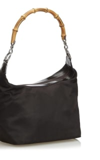 """Gucci Vintage """"Diana"""" bamboo handle satchel 2 Preview Images"""
