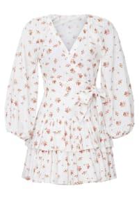 Maia Bergman Ines Rose Mini Dress 2 Preview Images