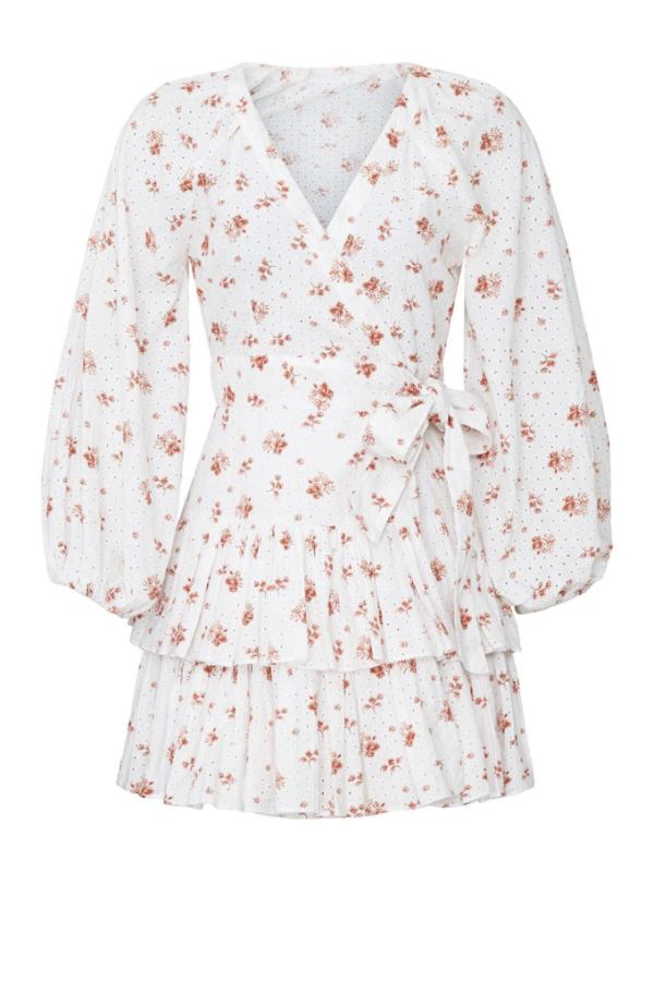 Maia Bergman Ines Rose Mini Dress 2
