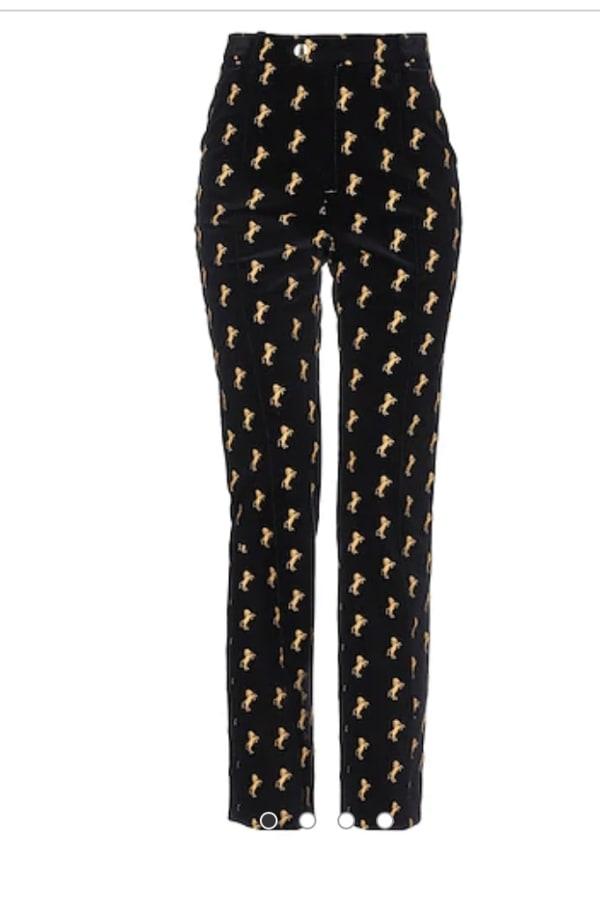Image 4 of Chloé monogram trousers
