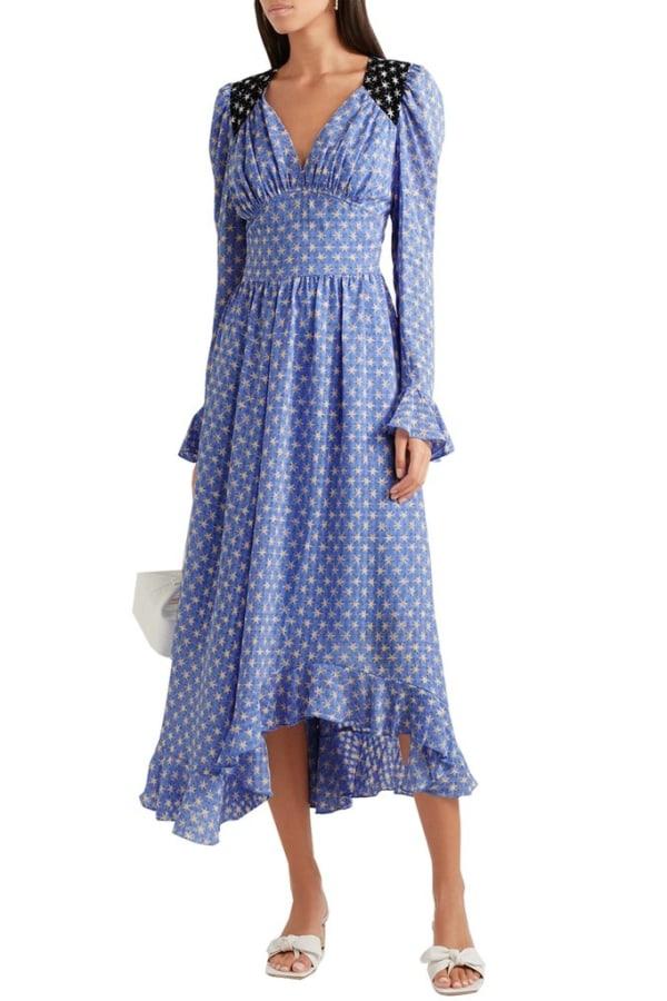 Image 2 of Stine Goya blue print dress