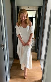 Theory Scoop neck maxi dress 2 Preview Images