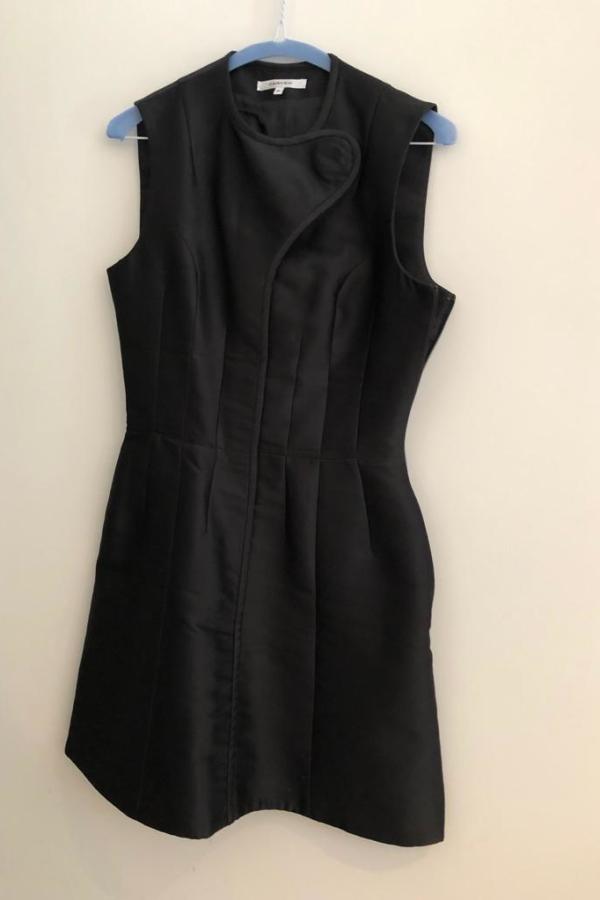 Carven Satin Twill Mini dress  2