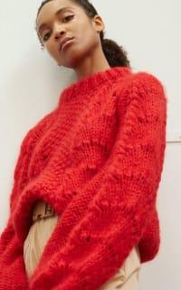 Ganni Julliard Mohair knit jumper 3 Preview Images