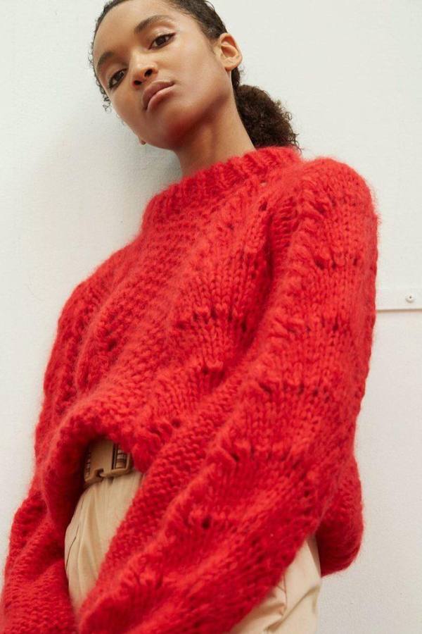 Ganni Julliard Mohair knit jumper 3