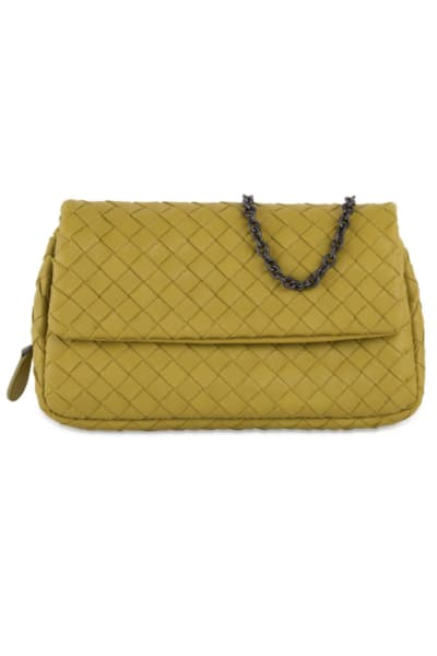 Bottega Veneta Intrecciato Mini Crossbody Bag