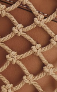 Staud Moreau Leather and Macrame Bag 3 Preview Images