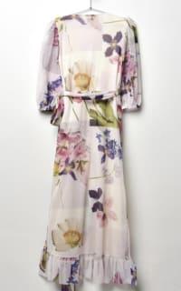 Ganni Wrap floral dress 3 Preview Images