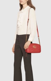 Gucci Marmont small shoulder bag 2 Preview Images