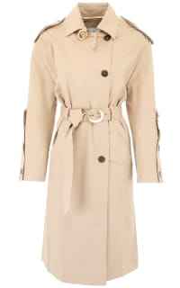 Nanushka Paris Belted Trench Coat Preview Images