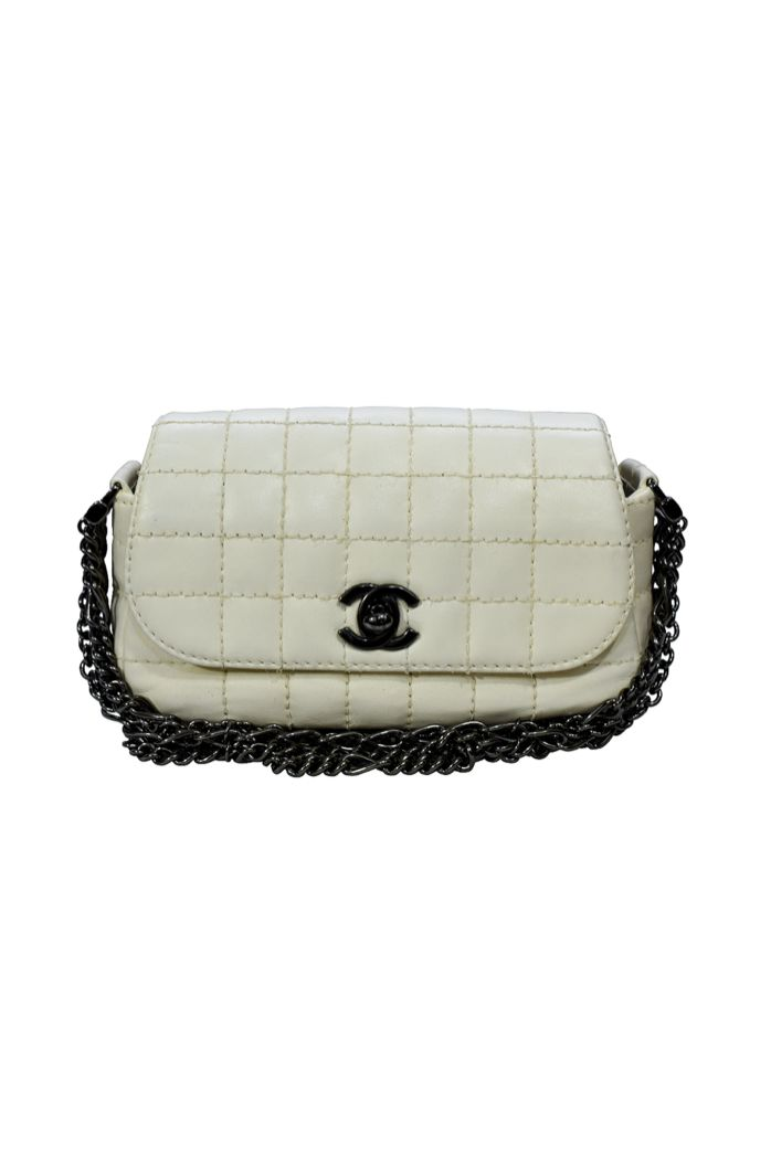 Chanel Ivory Mini Handbag Preview Images