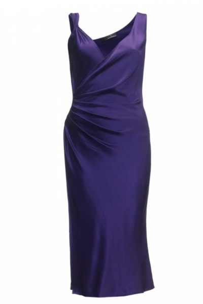 Amanda Wakeley Purple silk