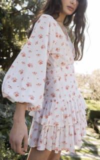 Maia Bergman Ines Rose Mini Dress 3 Preview Images