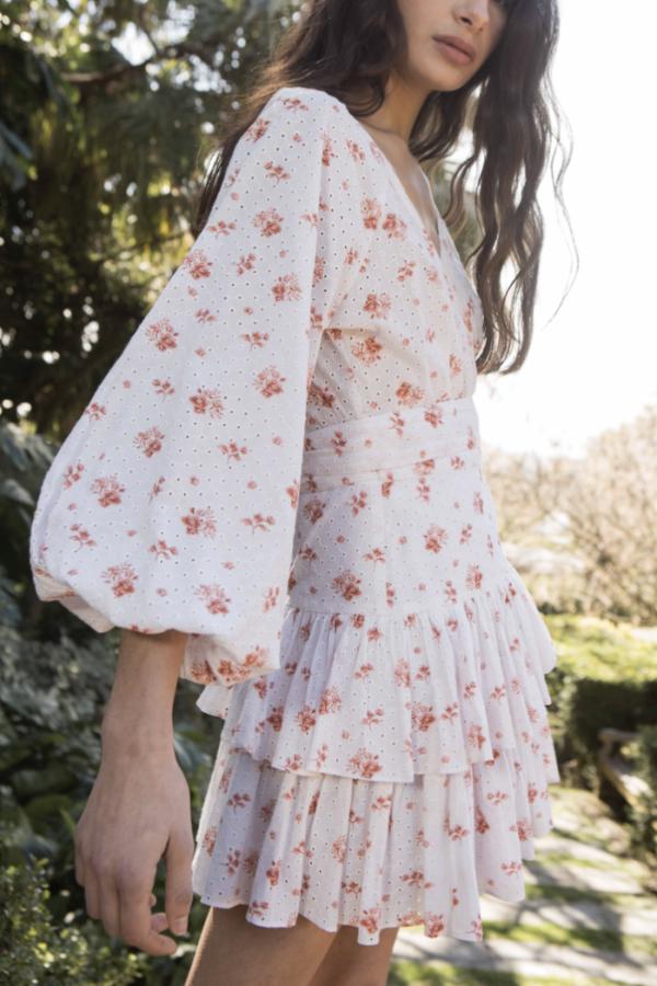 Maia Bergman Ines Rose Mini Dress 3