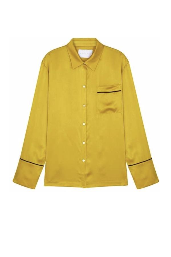 Asceno Pyjama silk shirt