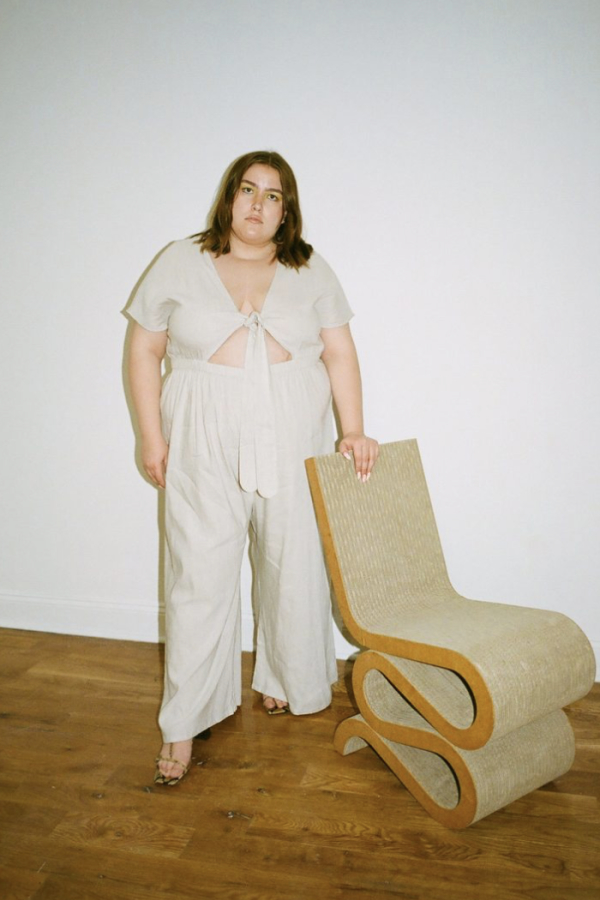 WRAY Tie Front jumpsuit 1 Preview Images