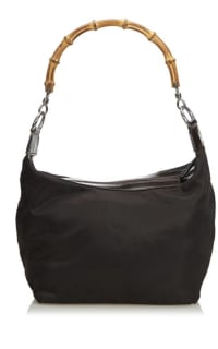 """Gucci Vintage """"Diana"""" bamboo handle satchel Preview Images"""