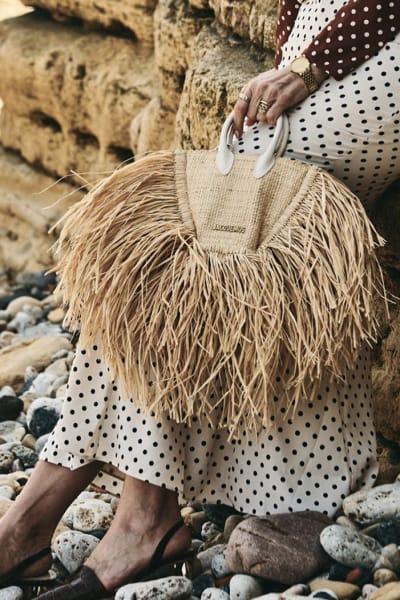 Jacquemus Le Petite Baci Woven Straw Bag 4