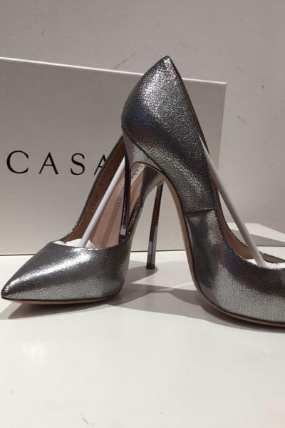 Casedei Silver pumps 2