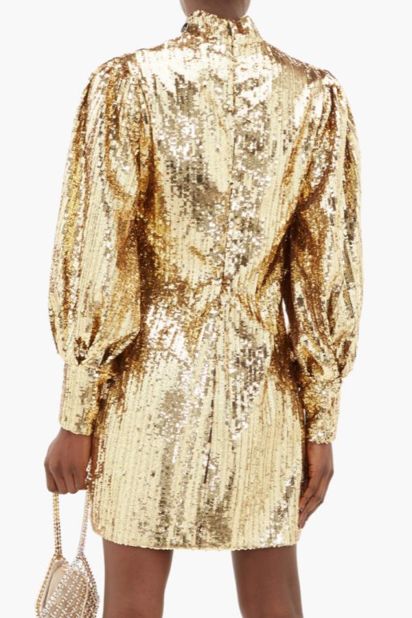Borgo De Nor Lima sequinned mini dress 4