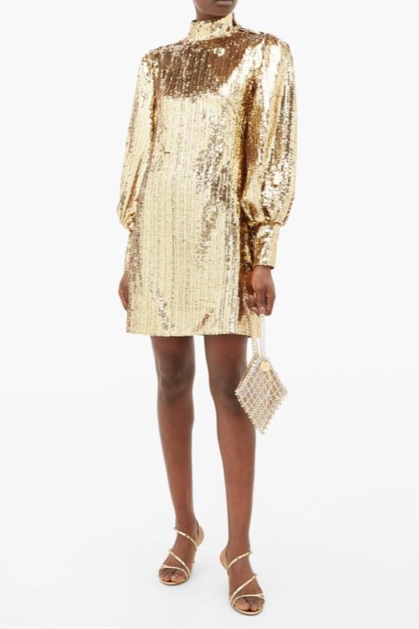 Image 2 of Borgo De Nor lima sequinned mini dress