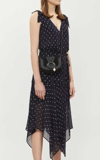 The Kooples Polka Dot Long Wrap Dress 5 Preview Images