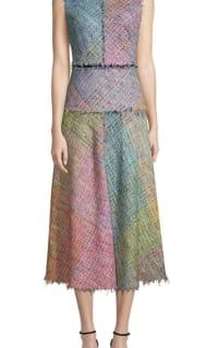 Escada Dalira Multicolor Tweed Midi Dress 4 Preview Images