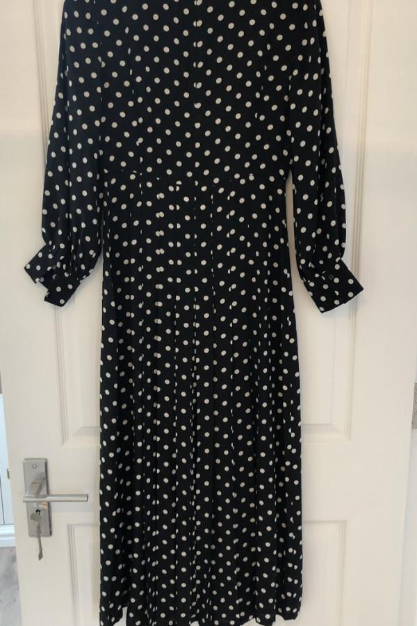 RIXO London Polka Dot Silk Dress 2
