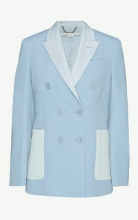 Stella McCartney Double-breasted wool blazer Preview Images