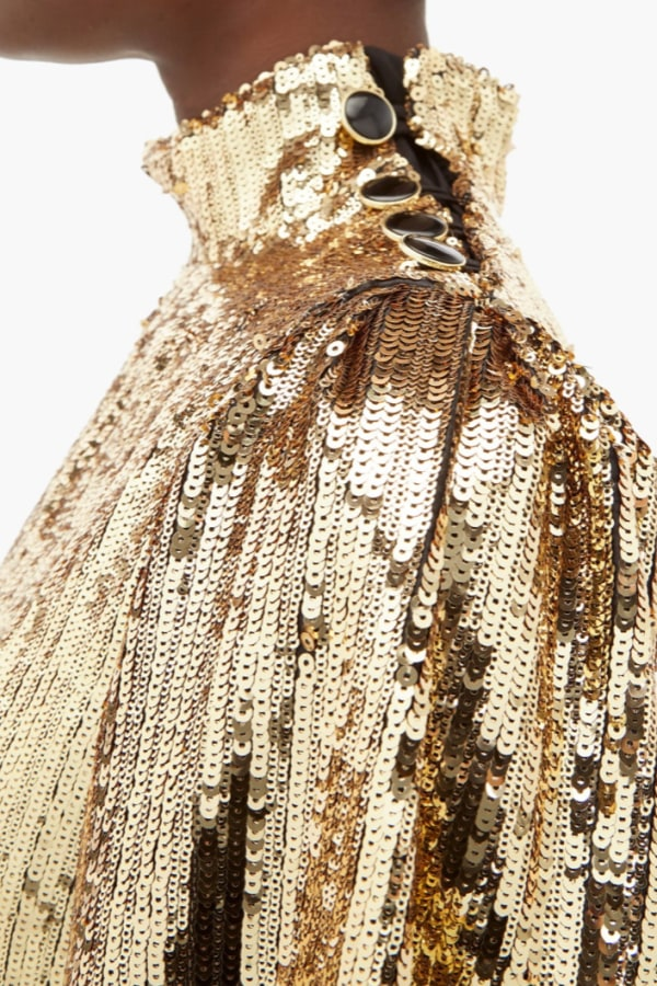 Image 5 of Borgo De Nor lima sequinned mini dress