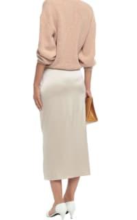 Nanushka Silk Midi Skirt 3 Preview Images