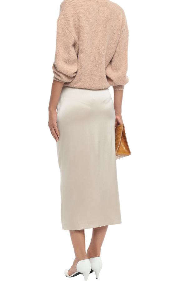Nanushka Silk Midi Skirt 3