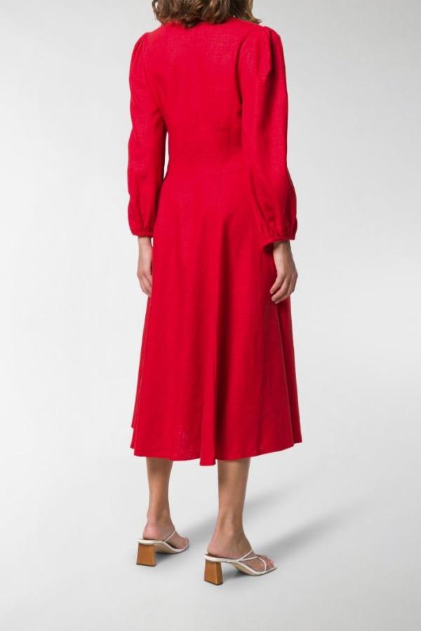 Image 4 of Staud birdie dress