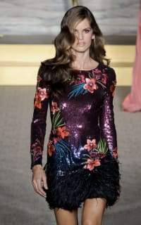 Matthew Williamson Sequin feather dress 3 Preview Images