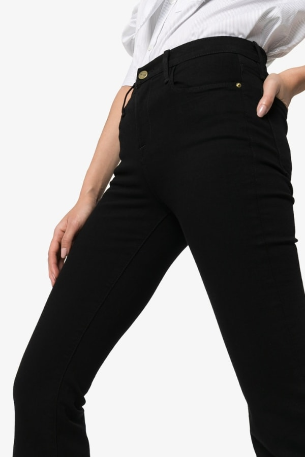 Image 4 of Frame high rise flared jeans
