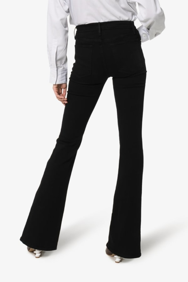 Image 3 of Frame high rise flared jeans