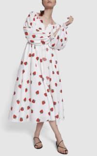 Gül Hürgel Strawberry Print Dress 2 Preview Images