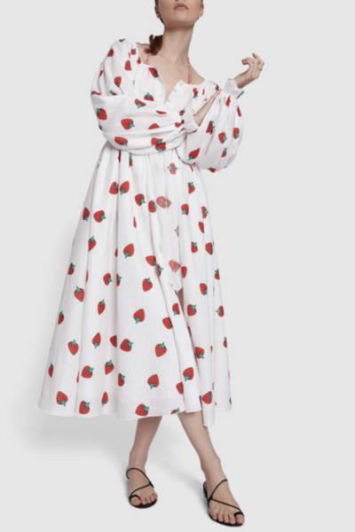 Gül Hürgel Strawberry Print Dress 2