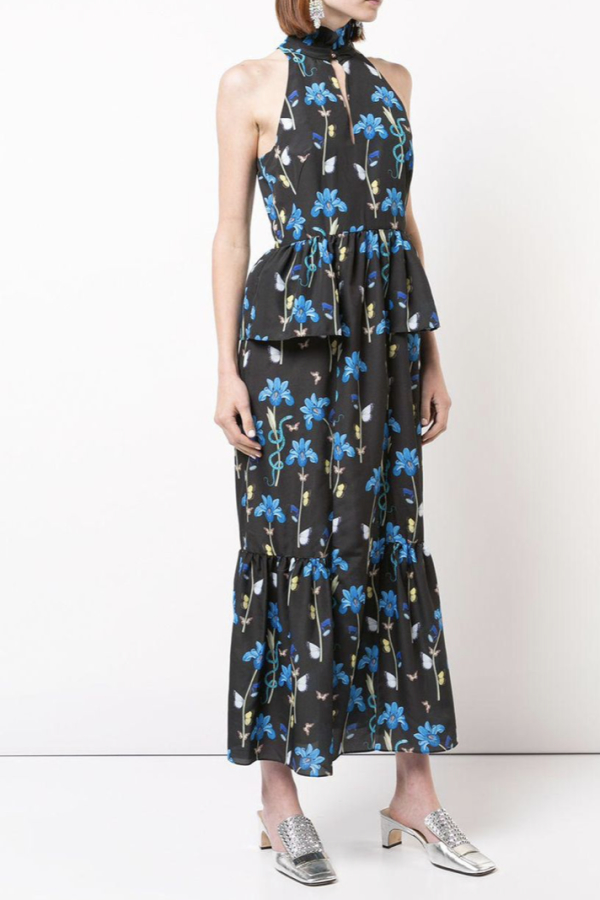 Borgo De Nor Floral printed midi dress 3