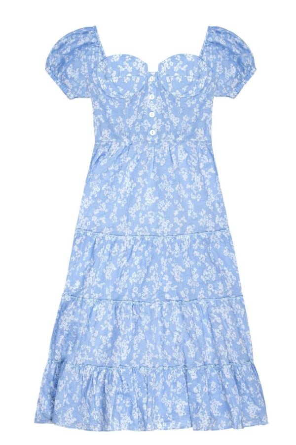 Image 1 of Wray sophia dress tea cup floral