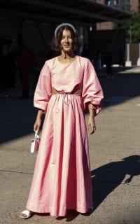 Staud Ivy Waist Cutout Maxi Dress 3 Preview Images