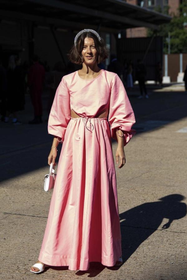 Staud Ivy Waist Cutout Maxi Dress 3