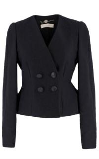 Stella McCartney Collarless Black Blazer Preview Images
