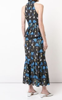 Borgo De Nor Floral printed midi dress 4 Preview Images