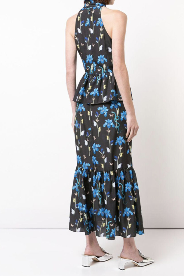 Borgo De Nor Floral printed midi dress 4