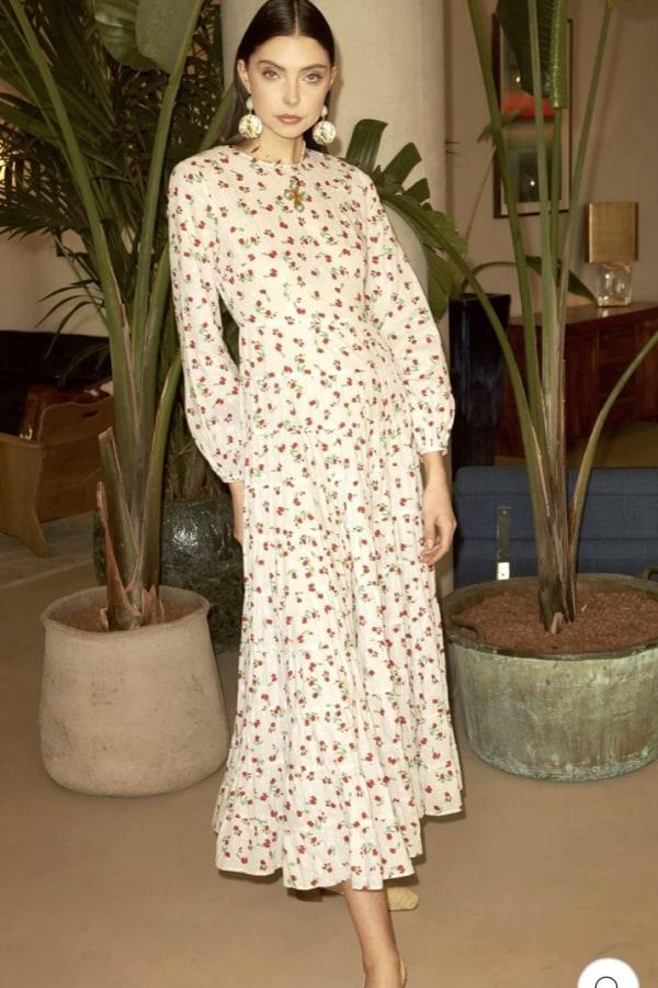 Image 4 of Rixo pip dress